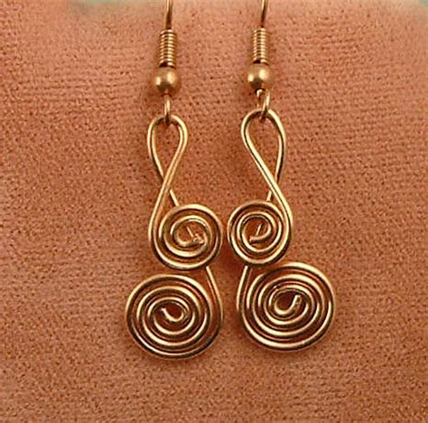 how to make wire jewelry earrings wire work how to make jewelry now