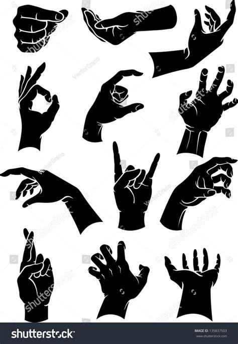 illuminati gestures signs gestures stock vector 135837503
