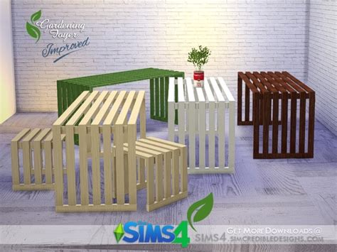 Sims 4 Foyer by The Sims 4 Gardening Foyer Dining Table By Simcredible
