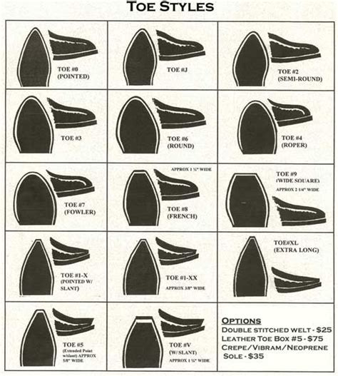 boot styles for heel toe styles fit style tuce