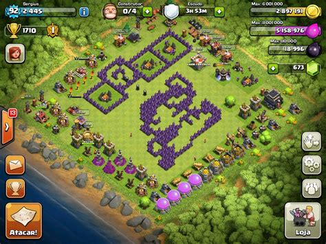 layout coc hello kitty top 10 funny clash of clans base top ten funny coc base