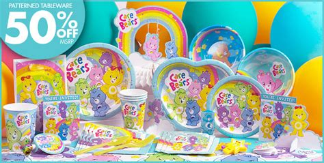 theme line care bear care bears party supplies care bears birthday party