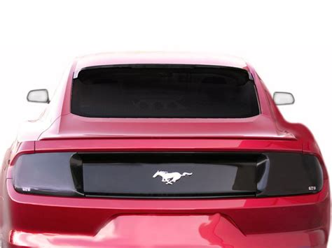 2015 2017 gts s550 mustang smoked tail light cover pair