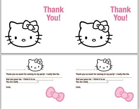 printable thank you cards to make with your kids
