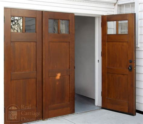 Folding Barn Doors Bi Folding Doors Or Accordian Doors By Real Carriage Door Company Dogtrot Door Ideas