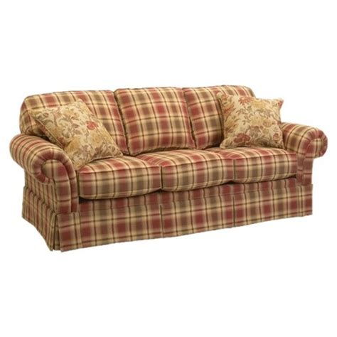 checked sofas i pinned this erickson sofa from the perfect plaids event