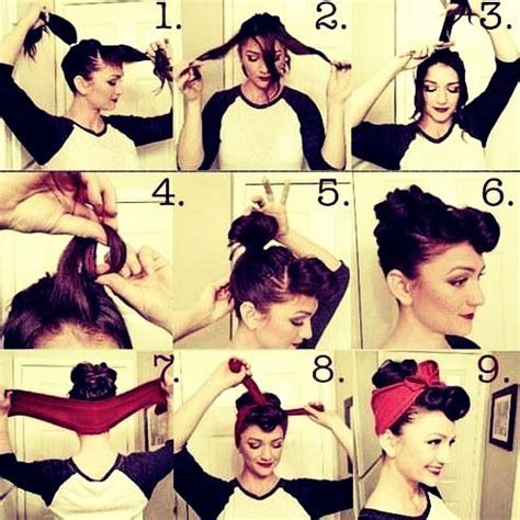 Easy Rockabilly Hairstyles how to make easy rockabilly hair hair styles