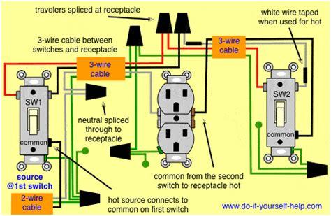 switch wiring diagrams    helpcom