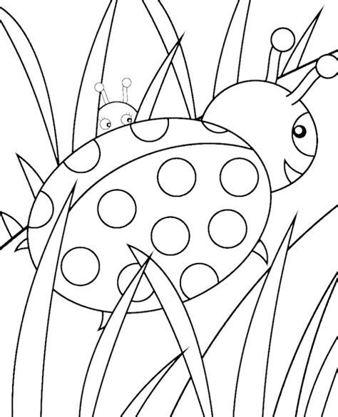 cute ladybug coloring pages az coloring pages