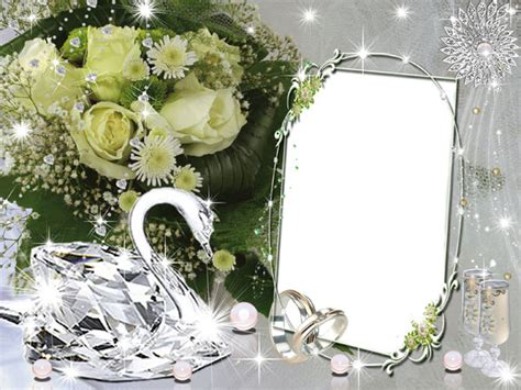 wedding frames for photoshop wedding frame psd realistic objects