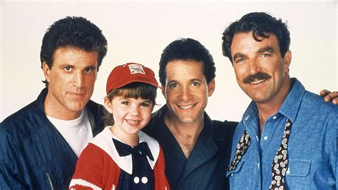 three men in a three men and a baby little lady images three men and a