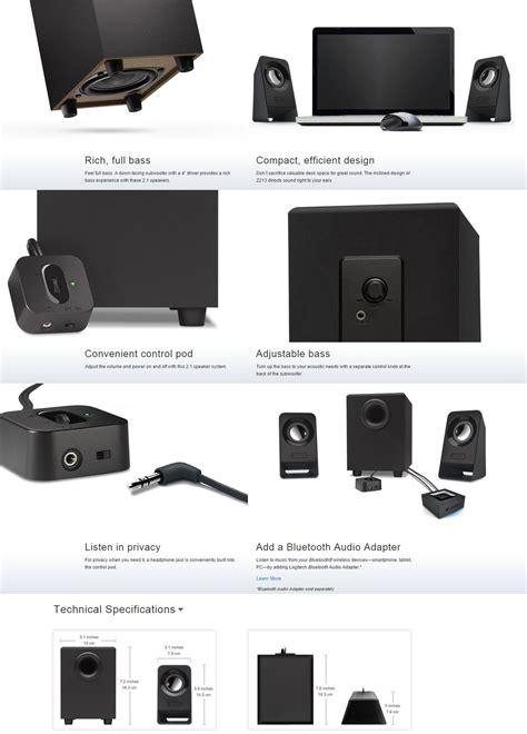 Logitech Multimedia Speaker Z213 Black 3 new logitech z213 multimedia speaker black ebay