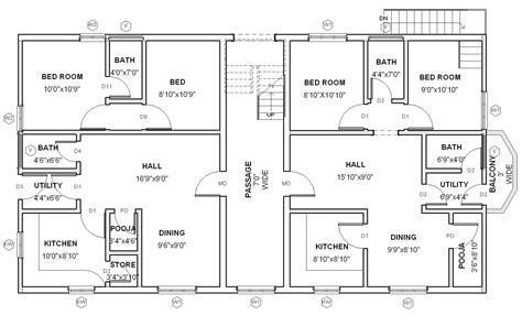architecture design floor plans modern house