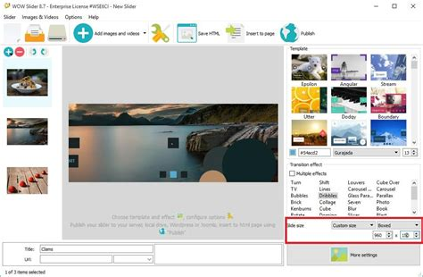 free html5 templates with slider html5 slideshow template