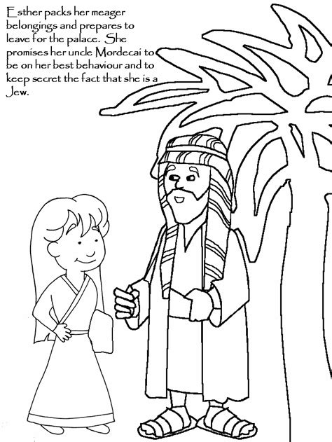 esther coloring page az coloring pages