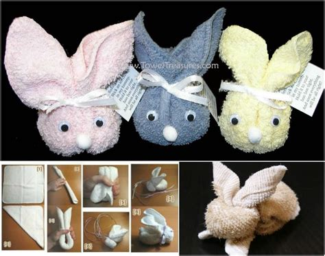diy bunny towels pictures   images  facebook
