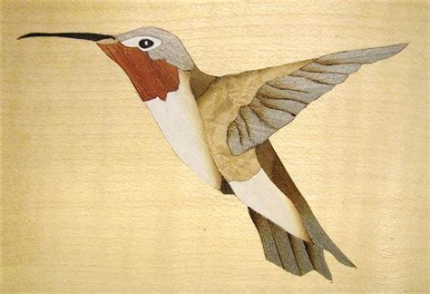 hummingbird woodworks marquetry kits