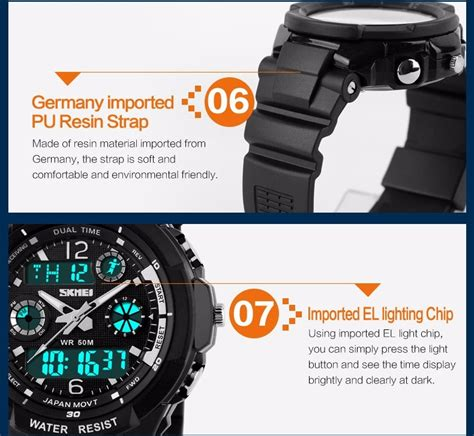 Special Skmei S Shock Militer Sport Water Resistant 50m Dg1054 s shock mens for sport skmei