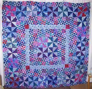cape pincushion pinwheel quilt top finished