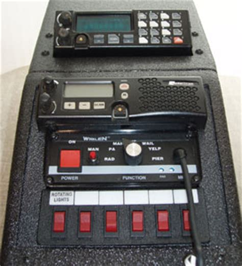console modificate cruisers emergency vehicle equipment