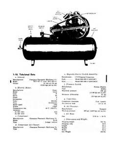 figure 1 2 air compressor left side view