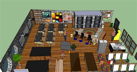 art classroom layout designs design experiment 1 all sketchedup njacquesblog