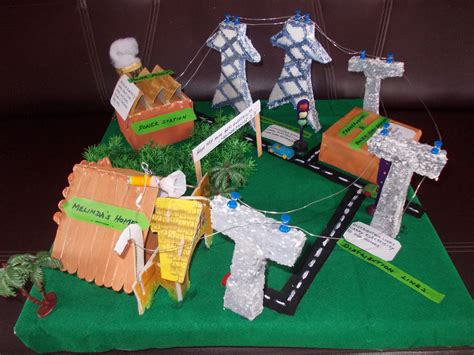 project craft electricity model project craft works school projects