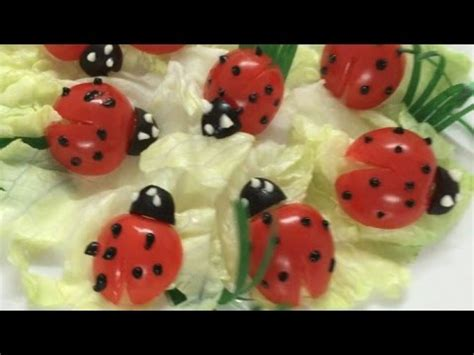 Ladybird Garden Decoration by Beautiful Ladybug How To Make Tomato Decoration By
