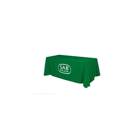 6ft economy table cover with perma logo