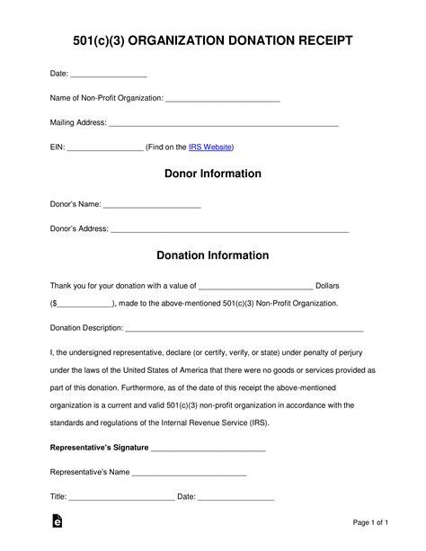 sample donation receipt letter tutoreorg master