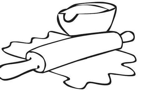dibujos infantiles utensilios de cocina dibujos de reposteria para pintar imagui