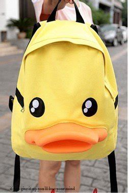 wholesale back to school new style cute duck school bag