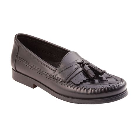 sears shoes black casual slip on shoe slide into style with sears