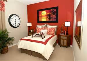 Bedroom Furniture For Small Rooms how to decorate a bedroom with red walls