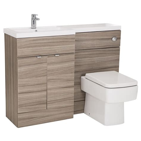 Monte Carlo Driftwood 1200mm Combination Furniture Pack Bathroom Combination Furniture
