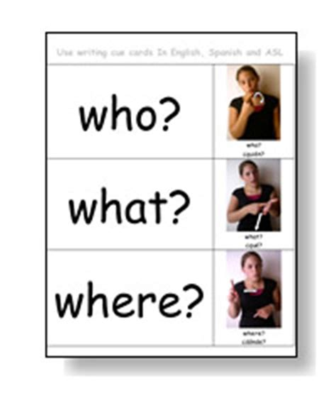 cue cards template free resouces kindergarten and early literacy