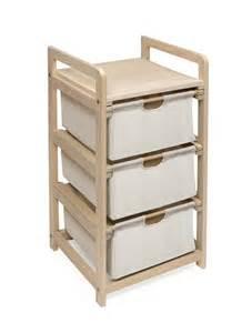 badger basket three drawer her storage unit by oj