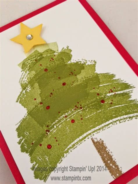 stintx christmas card ideas using work of art set