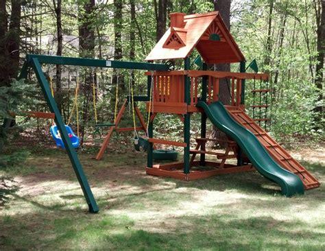 gorilla playsets landing wooden swing set gorilla swing sets interesting gorilla swing sets in