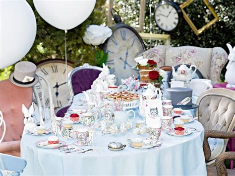 alice theme alice in wonderland theme party ideas for a mad hatter s