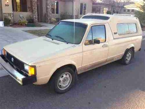 1981 volkswagen rabbit truck find used 1981 volkswagen caddy rabbit truck