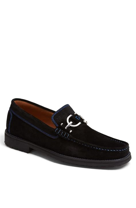 donald j pliner mens loafers donald j pliner dustee bit loafer in black for black