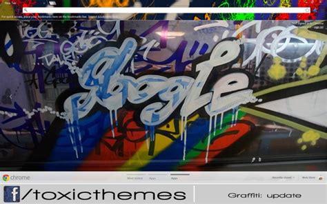 graffiti theme for google chrome graffiti them by toxic chrome web store