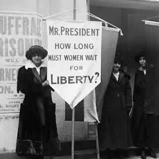 the new woman suffrage agenda | the new agenda