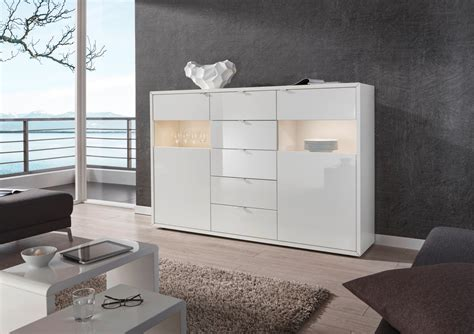 kommode highboard dreams4home highboard quot soundroom quot sideboard glasvitrine