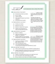 baby shower checklist make planning easy baby shower for