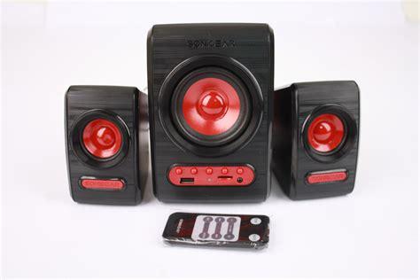 Speaker Quatro sonicgear quatro v speaker 2 1 with bass biru lazada indonesia