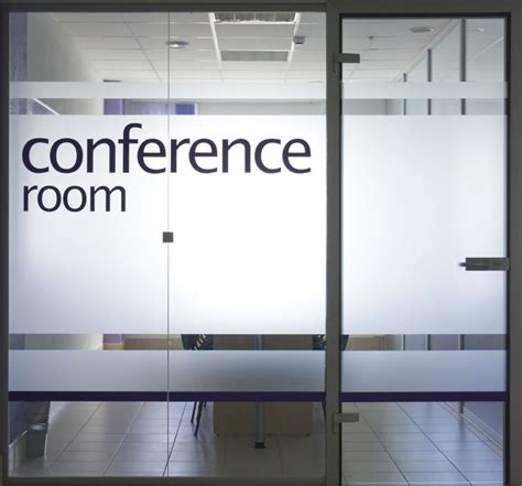 conference room names suggestions glass door and window into conference room commercial glass projects conference
