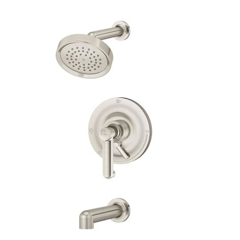 Symmons Tub And Shower Valve by Symmons Museo Single Handle 1 Spray Tub And Shower Faucet