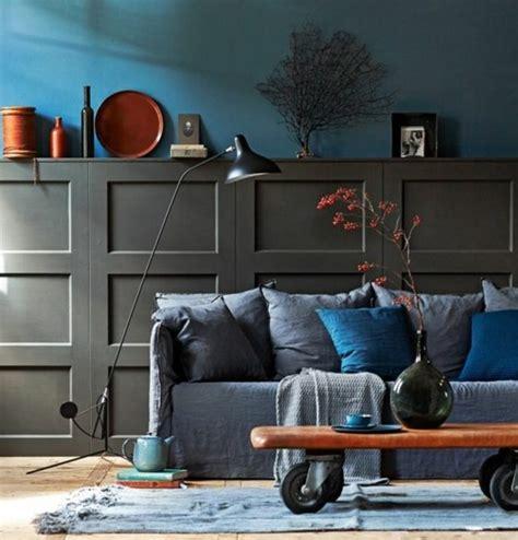 Deco Bleu Et Gris by D 233 Co Salon Gris 88 Id 233 Es Pleines De Charme